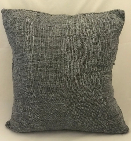 Grey Textured Cushion Cover