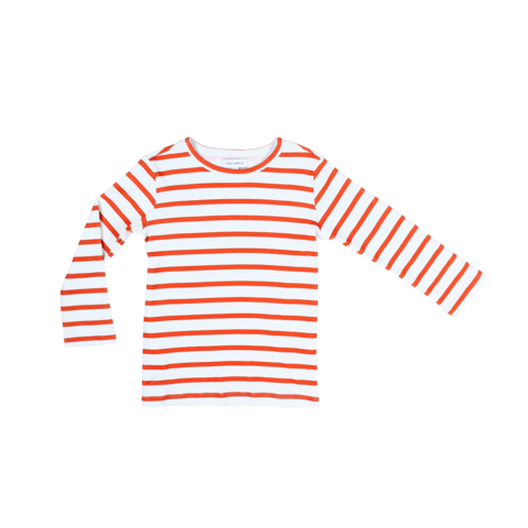 Sea Apple Red Stripe Long Sleeve Top