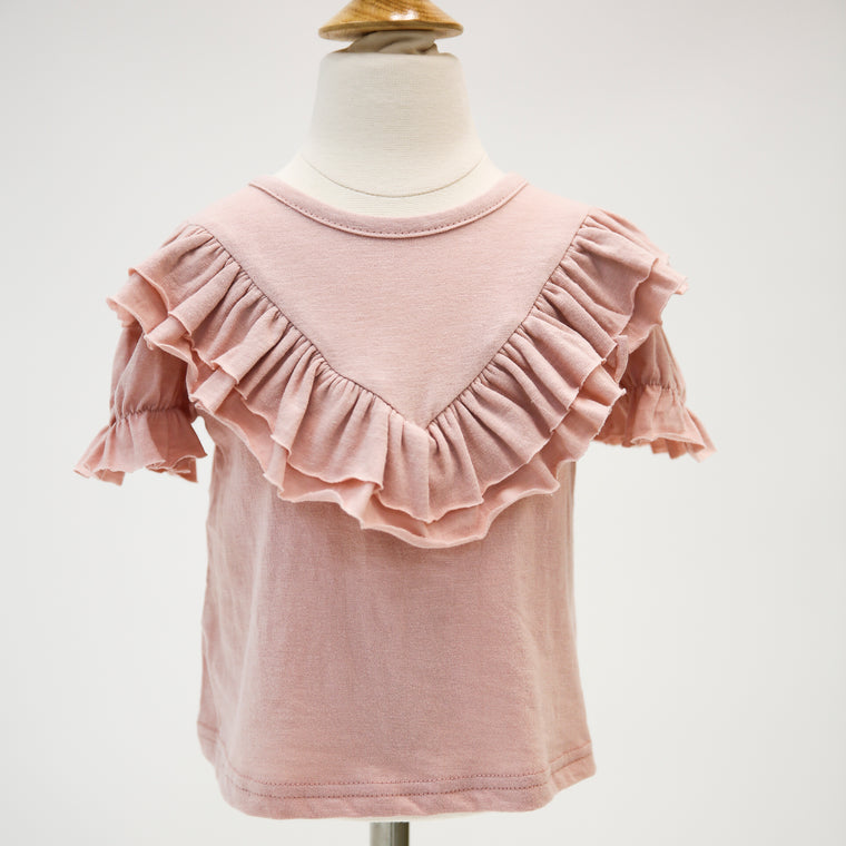 Ruffled Layer Detail Top