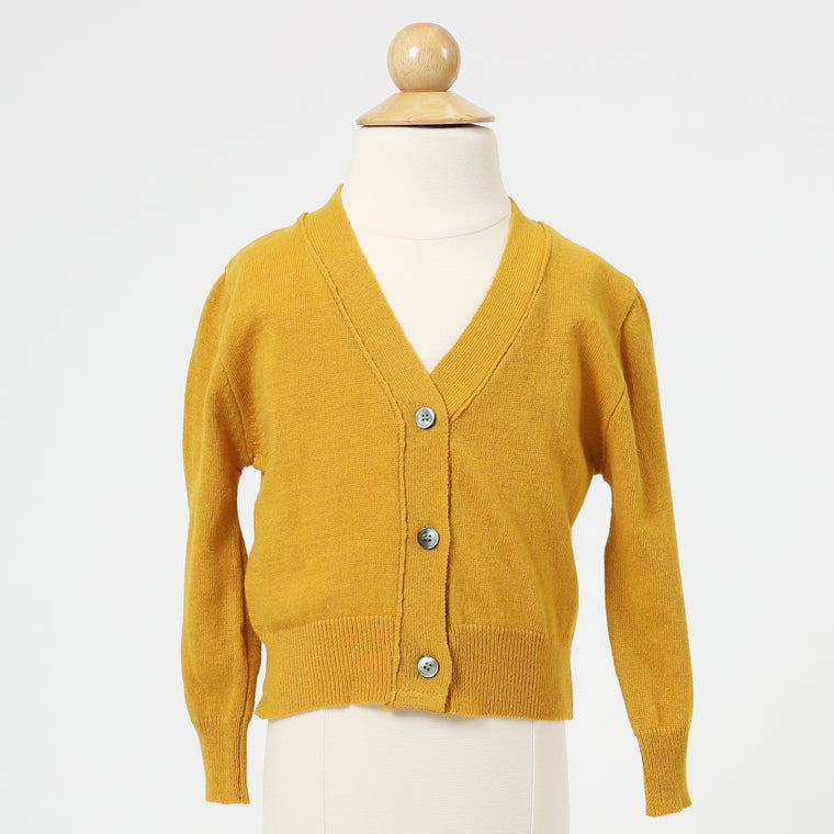 Cardigan With Front Buttons