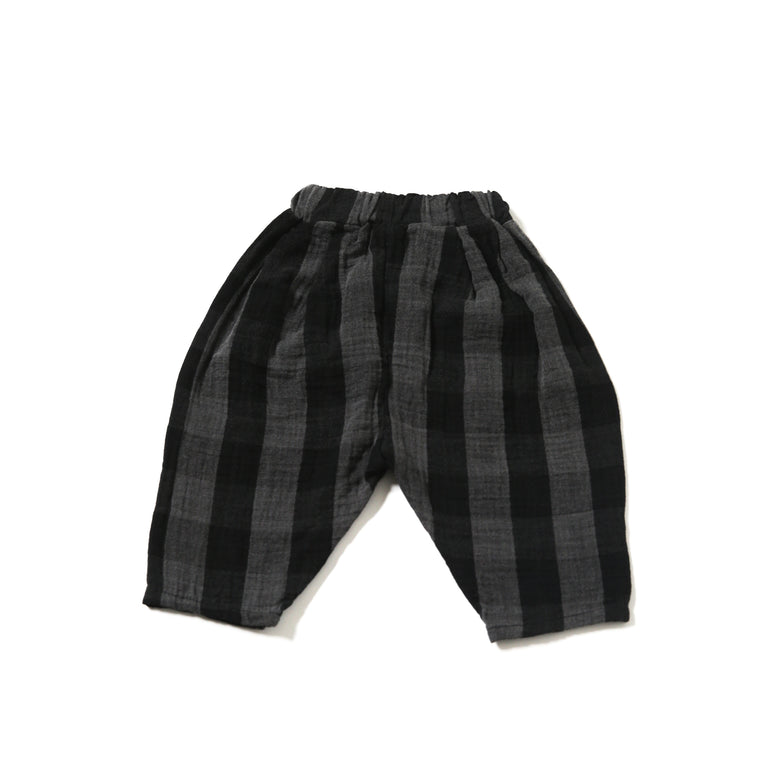 Plaid Bermuda Trousers