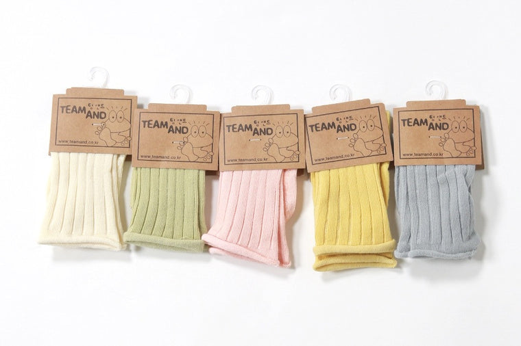 Ribbed Candle Socks