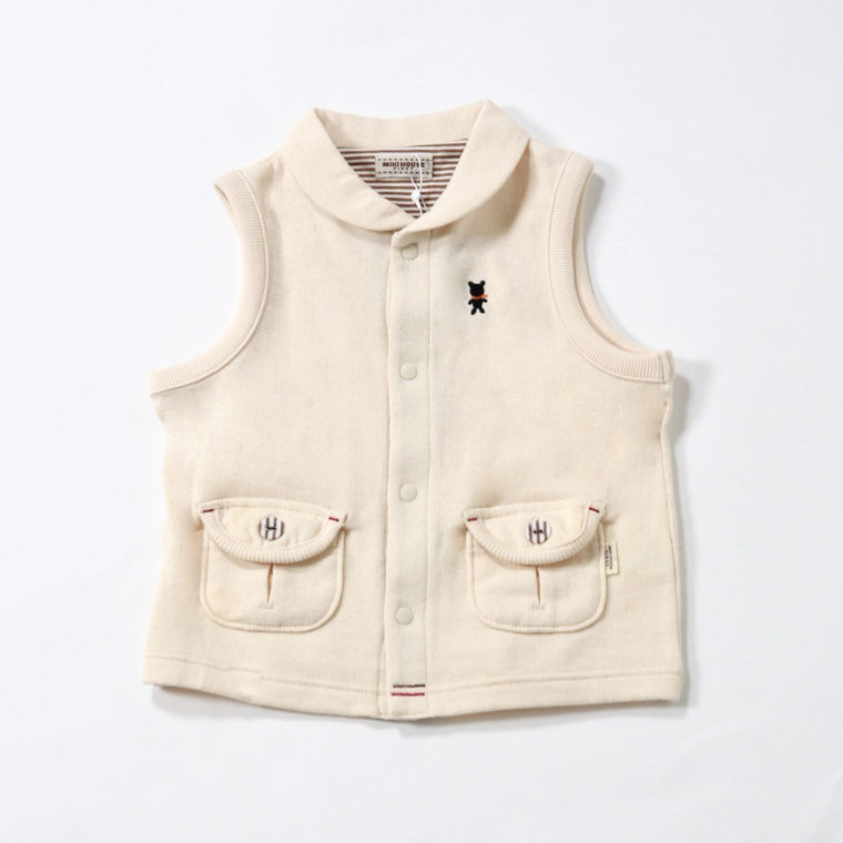 Bear Patch Vest