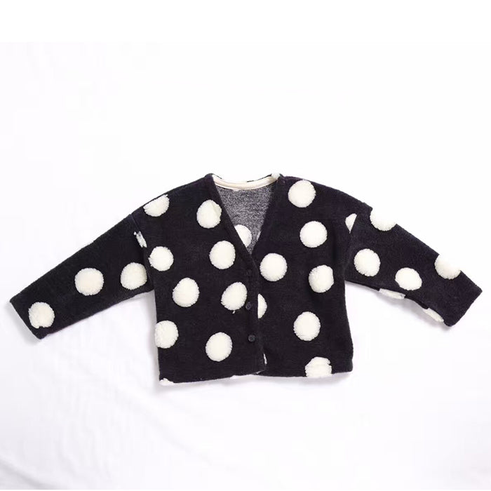 Polka Dot Pattern Outerwear