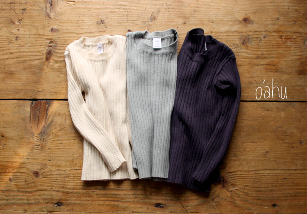 Ribbed Base knitwear