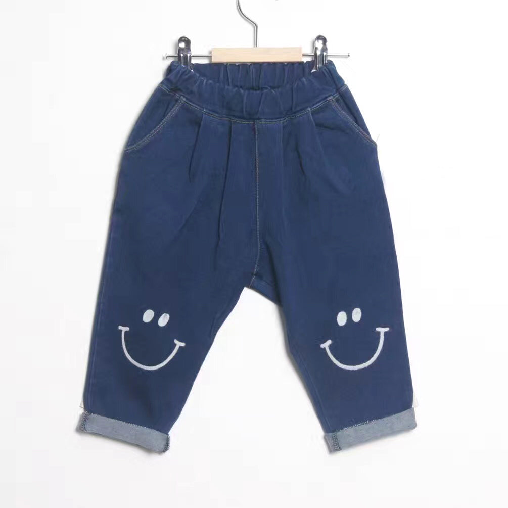 Smiley Face Pants