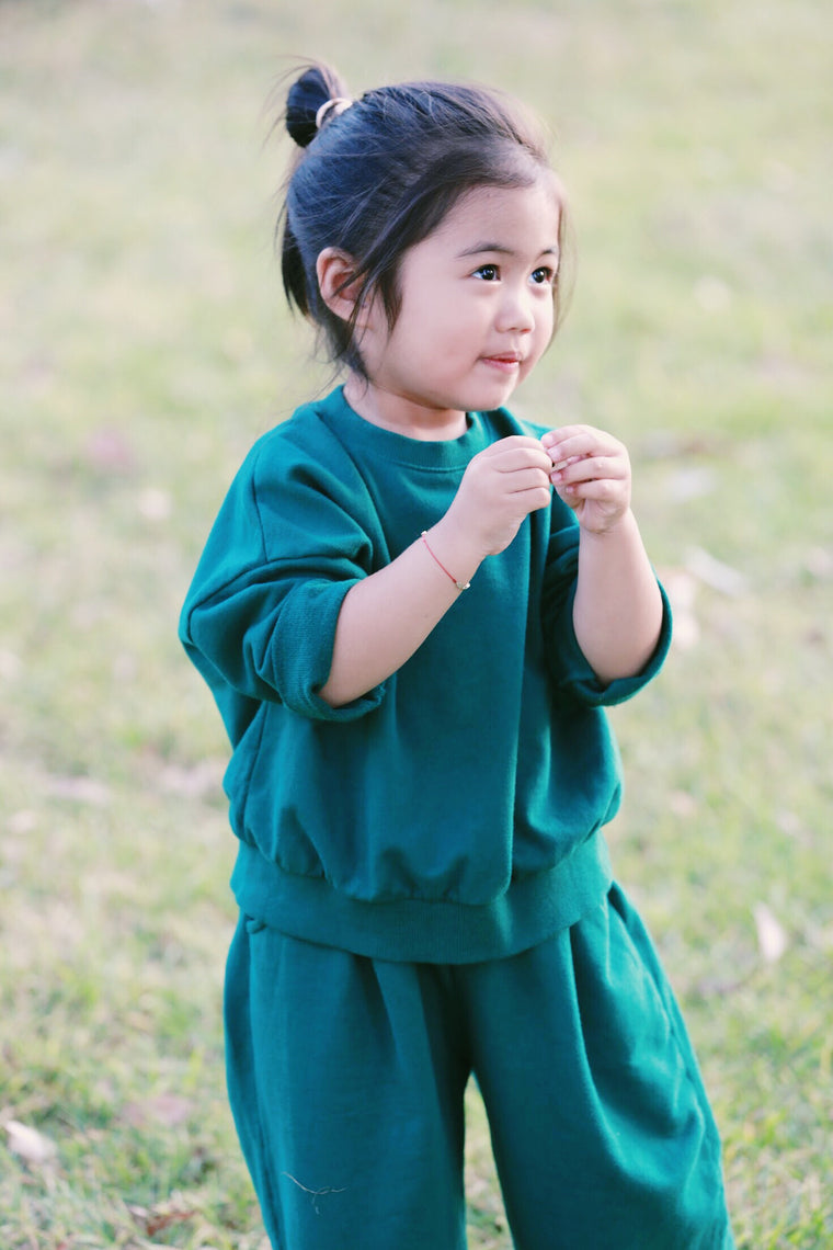 Green Jumper Set