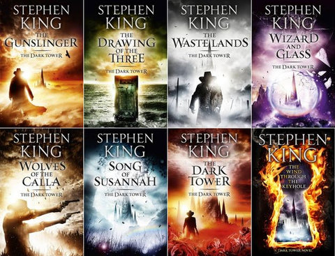 The Dark Tower series (9 BOOKS) BY Stephen King-MP3 AUDIOBOOK – ty's cheap DIGITAL audiobook/Etextbook