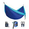 Double Camping Hammock - Sky Blue/Blue