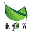 Double Camping Hammock -  Dark Green/Green - Winner Outfitters:  Outdoor Gears & Accessories
