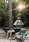 Double Camping Hammock - Khaki/Grey - Winner Outfitters:  Outdoor Gears & Accessories