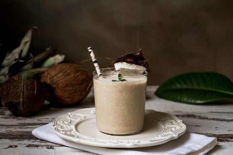 pumpkin coconut smoothie