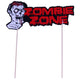 Zombie Party Cake & Cupcake Toppers - paperjazz