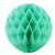 Mint Green Honeycomb Ball - paperjazz