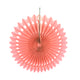 Peach Tissue Paper Fans or Pinwheel - paperjazz
