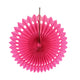 Hot Pink Paper Fans or Pinwheel 3 in one pack - paperjazz