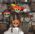 Day of the Dead Sugar Skull Masks - paperjazz