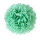 Mint Green Tissue Paper Pompom - paperjazz