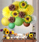 Sunflower Party Decoration kit Summer Birthday Wedding Bridal Shower - paperjazz