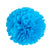 Royal Blue Tissue Paper Pompom - paperjazz