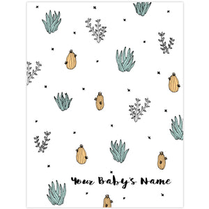So Fancy: Personalised Blanket - Desert Hot Springs - GFP Babies Newborn Photography