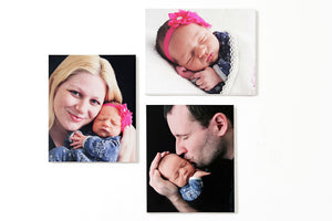 Baby Art Panels - GFP Babies Newborn Photography