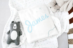 Sleepy Sighs Personalised Blanket