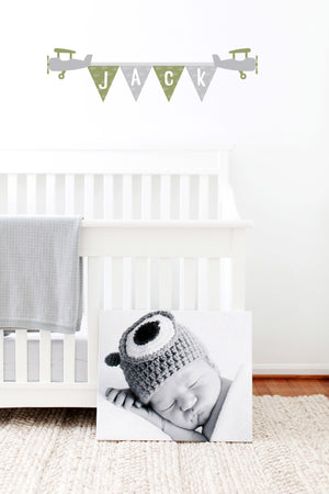 Personalised Bunting wall decal