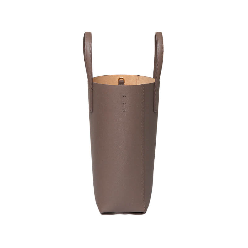 MINI BUCKET -  DEEP TAUPE - milma.studio