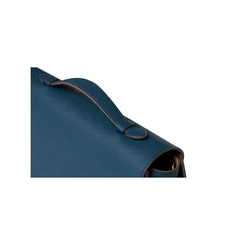 URBAN FLAP - DARK PEACOCK BLUE - milma.studio