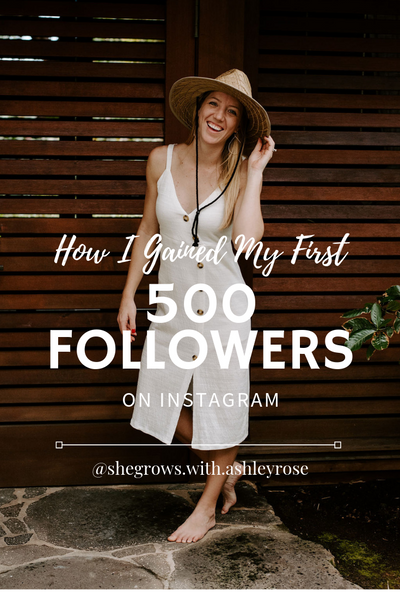 How I Gained My First 500 Instagram Followers Organically in Just 4 Weeks