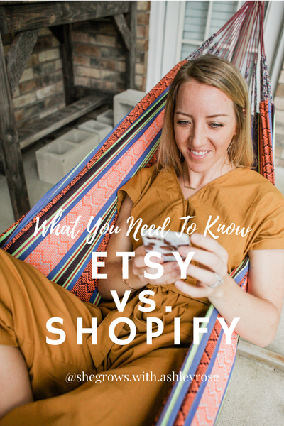 What You Need to Know About Etsy vs. Shopify