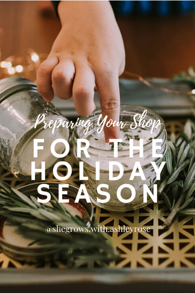 Preparing Your Shop for the Holiday Season