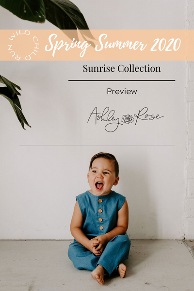 Spring Summer 2020 Sunrise Collection Preview