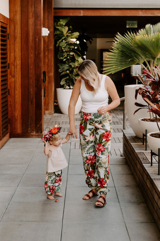 AshleyRose Aloha Collection Matching Mother Daughter Outfit