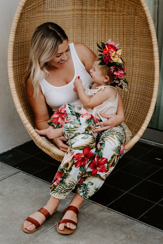 AshleyRose Aloha Collection Matching Mommy Daughter Outfit