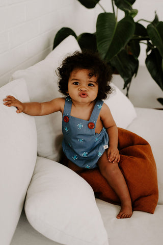 Ashley Rose SS20 Sunrise Collection toddler romper