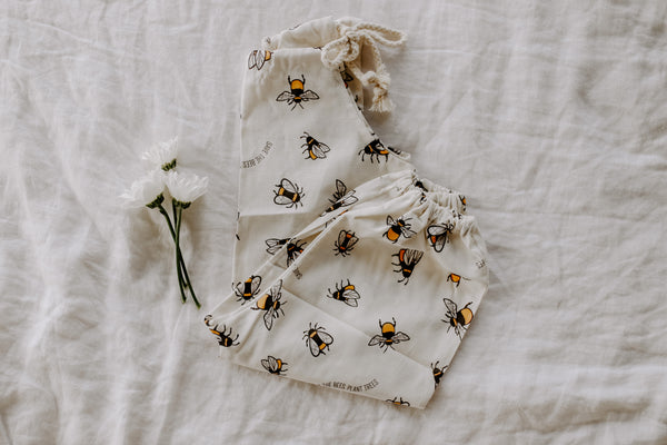 Ashley Rose Clothing Children's Kids Brand Fall Winter 2021 Bees Lucy Romper