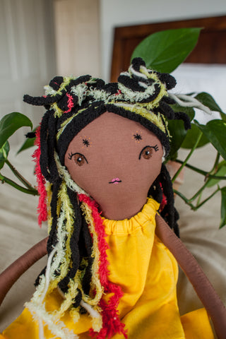 Heirloom Handmade Matching Doll Hairstyles