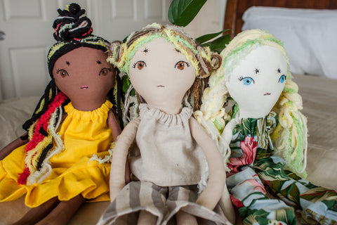 Heirloom Handmade Matching Doll