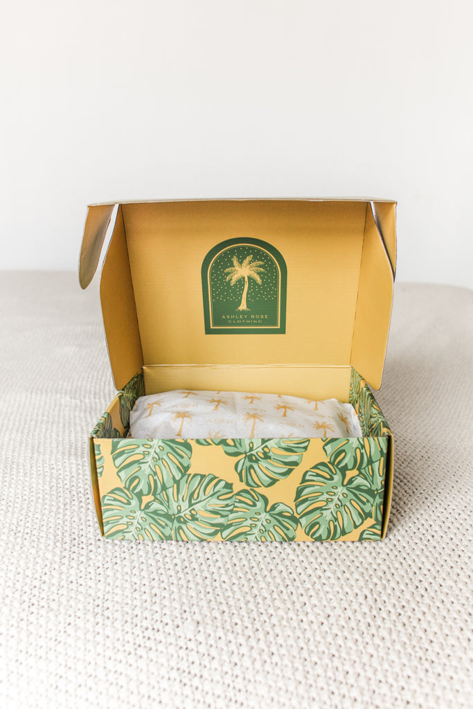 Sustainable Children's Clothing Brand Recyclable Packaging Design