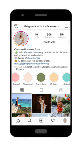 Instagram course for business