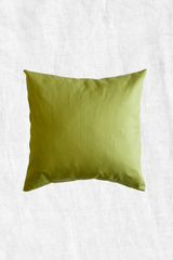 Pea Shoots Duck Feather Throw Pillow + Case