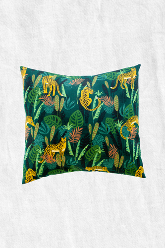 Jungle Duck Feather Throw Pillow + Case
