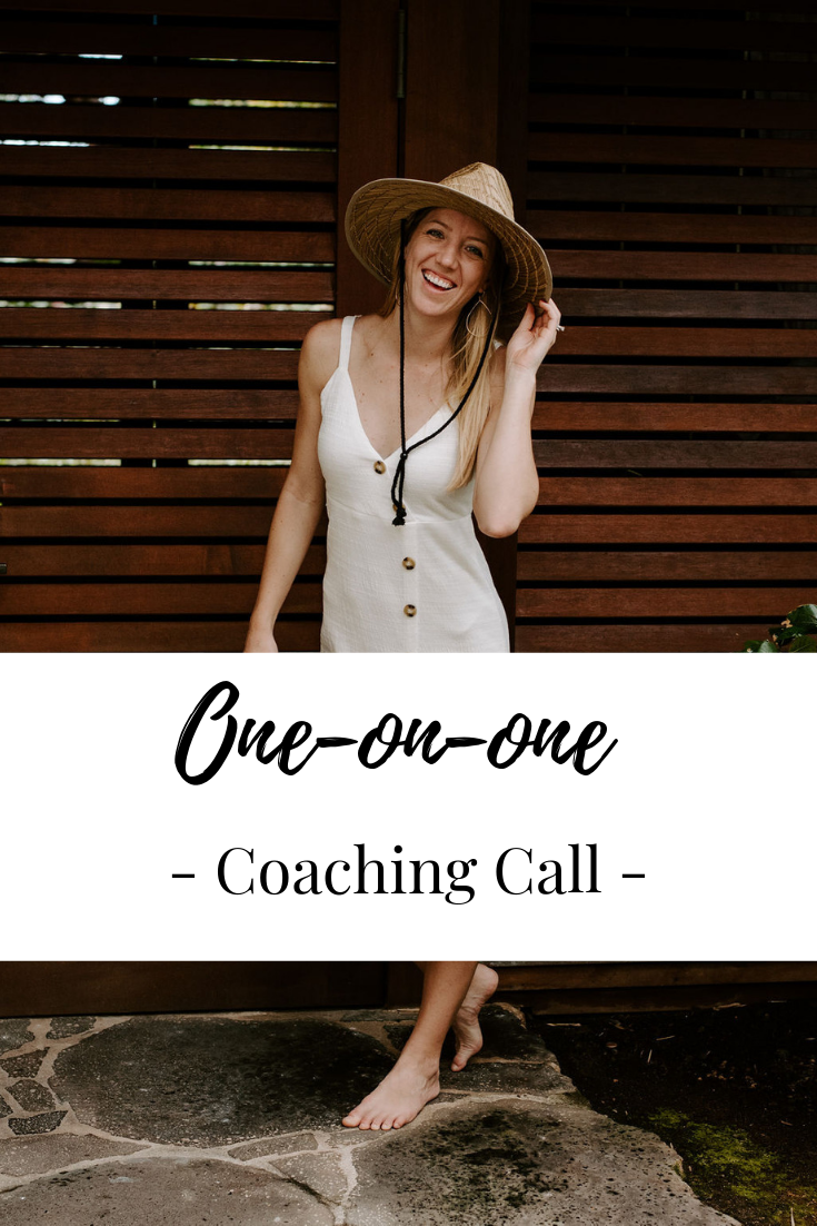 One-on-one Business Coaching Call