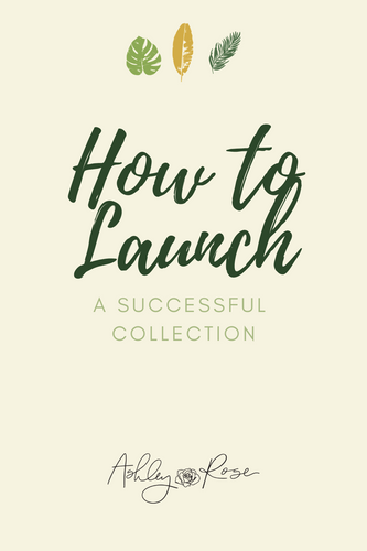 How to Launch a Successful Collection