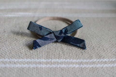 Matching Nylon Headband Bow (Boho Bell Dress)