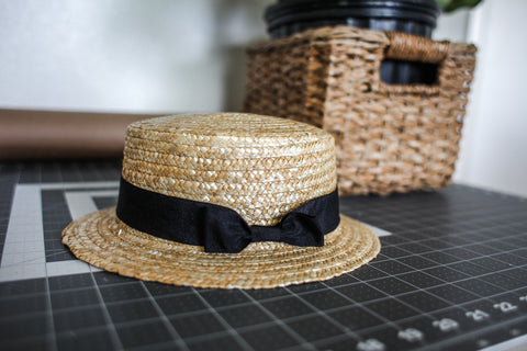 The Rowan Straw Hat
