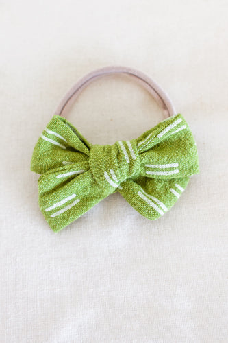 Pickle Matching Headband Bow