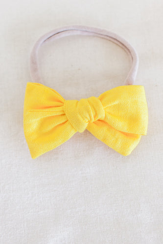 Pineapple Matching Headband Bow
